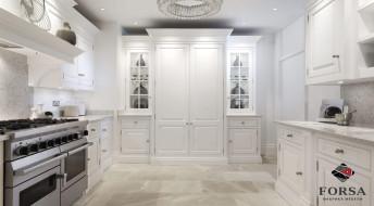 Белая кухня Неоклассика №16
