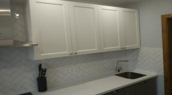 """Бело-коричневая кухня """"Moritz"""""""